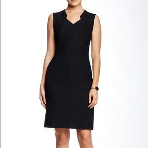 HUGO BOSS Dokysa Structured Sheath Dress